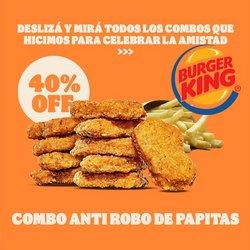 Catálogo Burger King ( Vence hoy)