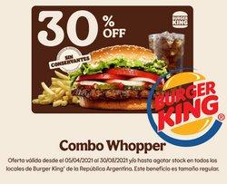 Catálogo Burger King ( 25 días más)