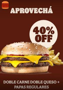 Ofertas de Restaurantes en el catálogo de Burger King ( 5 días más)