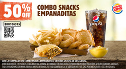 Ofertas de Burger King  en el folleto de La Florida (Santa Fe)