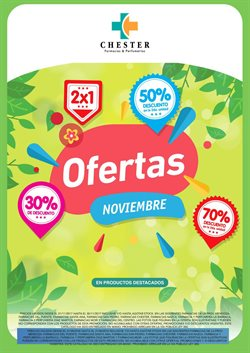 Ofertas de Farmacias Chester  en el folleto de Temperley