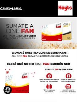 Ofertas de Libros y ocio  en el folleto de Cinemark en Puerto Madryn