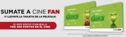 Ofertas de Libros y ocio  en el folleto de Cinemark en Rafael Castillo