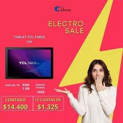 Ofertas de Electrónica y Electrodomésticos en el catálogo de Aloise ( 4 días más)