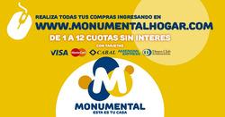 Ofertas de Monumental Hogar  en el folleto de Buenos Aires