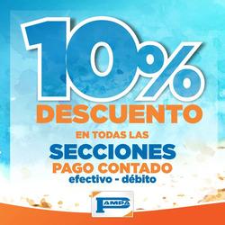 Ofertas de Pampa Hogar  en el folleto de Necochea