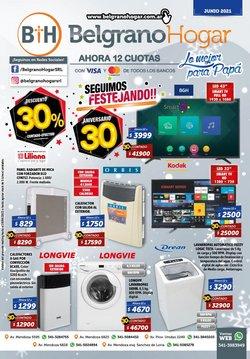 Ofertas de Electrónica y Electrodomésticos en el catálogo de Belgrano Hogar ( 7 días más)