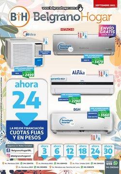 Ofertas de Electrónica y Electrodomésticos en el catálogo de Belgrano Hogar ( 3 días más)