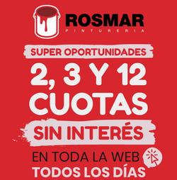 Cupón Pinturerías Rosmar en Lomas de Zamora ( 2 días publicado )