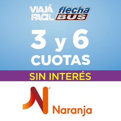 Ofertas de Viajes  en el folleto de Flechabus en La Plata