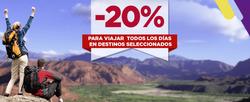 Ofertas de Flechabus  en el folleto de Buenos Aires