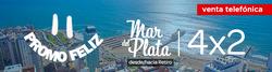 Ofertas de Viajes  en el folleto de Flechabus en Villa Domínico