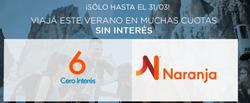 Ofertas de Viajes  en el folleto de Flechabus en Buenos Aires