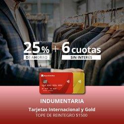 Ofertas de Bancos y Seguros en el catálogo de Banco Entre Ríos ( 6 días más)