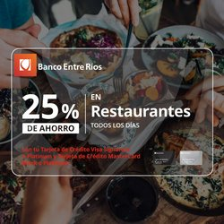 Ofertas de Bancos y Seguros en el catálogo de Banco Entre Ríos ( Más de un mes)