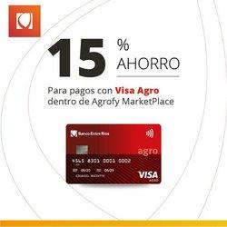 Ofertas de Banco Entre Ríos en el catálogo de Banco Entre Ríos ( Vence hoy)