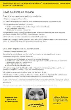 Ofertas de Una en Western Union