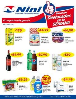 Ofertas de Hiper-Supermercados en el catálogo de Nini Mayorista ( Vence mañana)