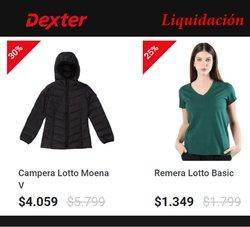 Catálogo Dexter ( 9 días más)