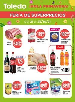 Ofertas de Supermercados Toledo en el catálogo de Supermercados Toledo ( Vence hoy)