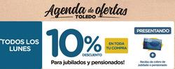Ofertas de Supermercados Toledo  en el folleto de Mar del Plata
