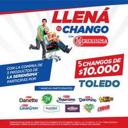 Ofertas de Supermercados Toledo  en el folleto de Buenos Aires