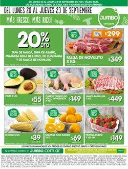 Ofertas de Hiper-Supermercados en el catálogo de Jumbo ( Vence hoy)
