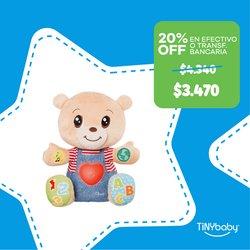 Ofertas de Juguetes, Niños y Bebés en el catálogo de Tiny Baby ( 5 días más)