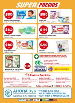 Ofertas de Pampers en Anika Shop