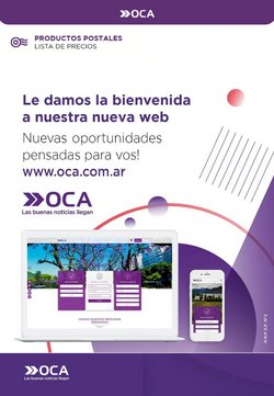 Catálogo Oca ( Más de un mes)