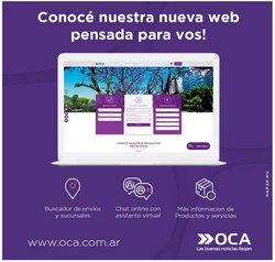 Ofertas de Oca en el catálogo de Oca ( 8 días más)