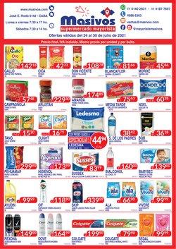 Ofertas de Hiper-Supermercados en el catálogo de Masivos ( Publicado hoy)