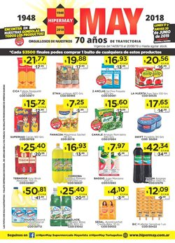 Ofertas de Hiper May  en el folleto de Castelar