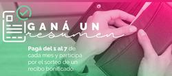 Ofertas de Tarjeta Única  en el folleto de Buenos Aires