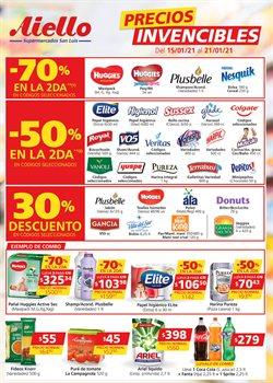 Ofertas de Fideos en Supermercados Aiello