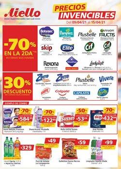 Ofertas de Hiper-Supermercados en el catálogo de Supermercados Aiello en Lanús ( 2 días más )