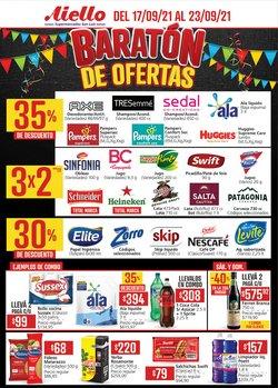 Ofertas de Hiper-Supermercados en el catálogo de Supermercados Aiello ( Vence hoy)