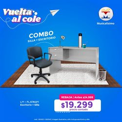 Ofertas de Electrónica y Electrodomésticos en el catálogo de Musicalisimo en Córdoba ( 3 días publicado )