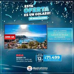 Ofertas de Electrónica y Electrodomésticos en el catálogo de Musicalisimo ( Vence hoy)