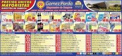 Catálogo Gomez Pardo en San Miguel de Tucumán ( Caducado )