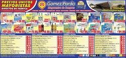 Catálogo Gomez Pardo en San Miguel de Tucumán ( Publicado ayer )