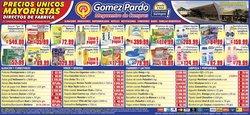 Catálogo Gomez Pardo ( 4 días más)