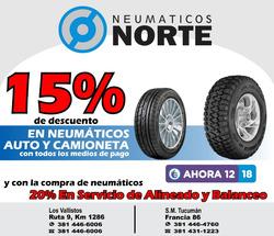 Cupón Neumáticos Norte en Concepción (Tucumán) ( 2 días publicado )