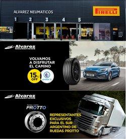Ofertas de Alvarez Neumáticos en el catálogo de Alvarez Neumáticos ( 12 días más)