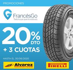 Cupón Alvarez Neumáticos en Olavarría ( Más de un mes )