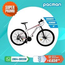 Ofertas de Electrónica y Electrodomésticos en el catálogo de Pacman ( 4 días más)