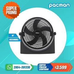 Ofertas de Electrónica y Electrodomésticos en el catálogo de Pacman ( Vence mañana)