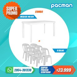Ofertas de Electrónica y Electrodomésticos en el catálogo de Pacman ( Vence hoy)
