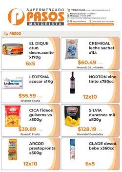 Ofertas de Pasos Supermercado en el catálogo de Pasos Supermercado ( Vence hoy)