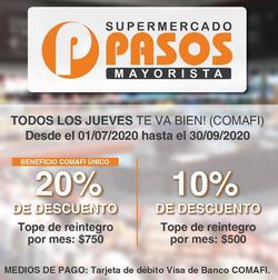 Cupón Pasos Supermercado ( 4 días más )